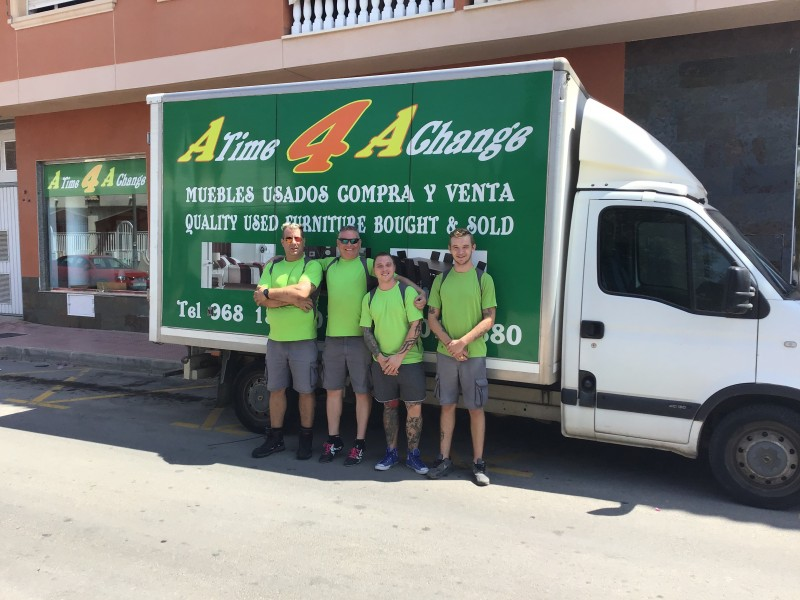 A Time 4 A Change second-hand furniture sales and purchases in the Mar Menor area