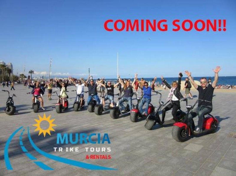 Take a Murcia Trike Tour and see the Costa Cálida from a totally different perspective!