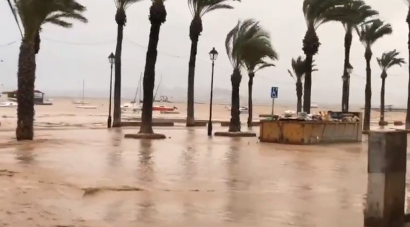 <span style='color:#780948'>ARCHIVED</span> - Environmental concern for the Mar Menor following the second gota fría of the autumn