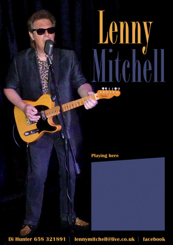 <span style='color:#780948'>ARCHIVED</span> - 30th November, Lenny Mitchell live at La Manga Camping