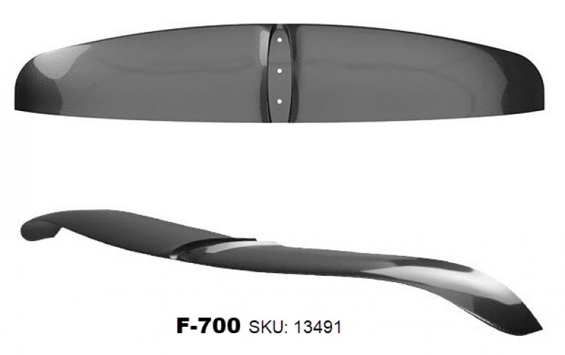 AFS Windsurf Foil 85 - 700 Carbon is one of the best value for money foils on the market