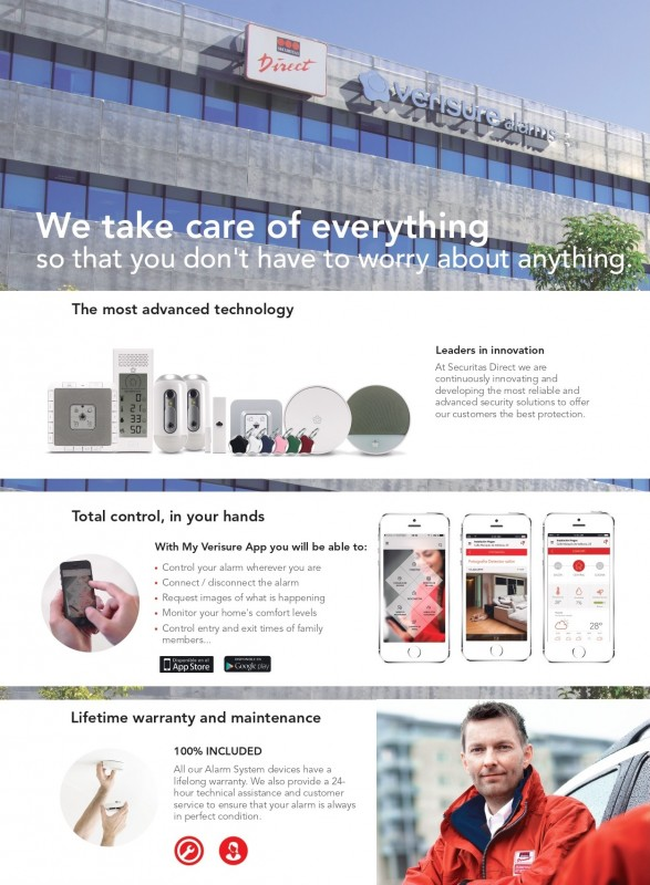 Do you have a property in Murcia, Alicante or Costa del Sol and need an alarm system? Securitas Direct in English