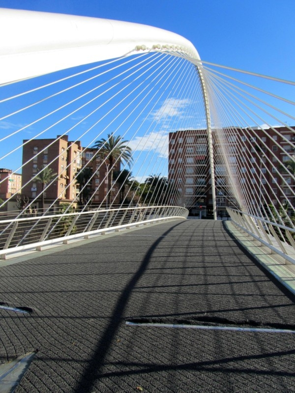 <span style='color:#780948'>ARCHIVED</span> - Murcia residents unhappy as 2.4 million euro Santiago Calatrava bridge guzzles money