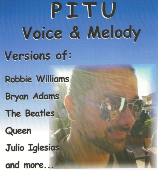 <span style='color:#780948'>ARCHIVED</span> - 1st March Pitu live at the Club House, Camposol