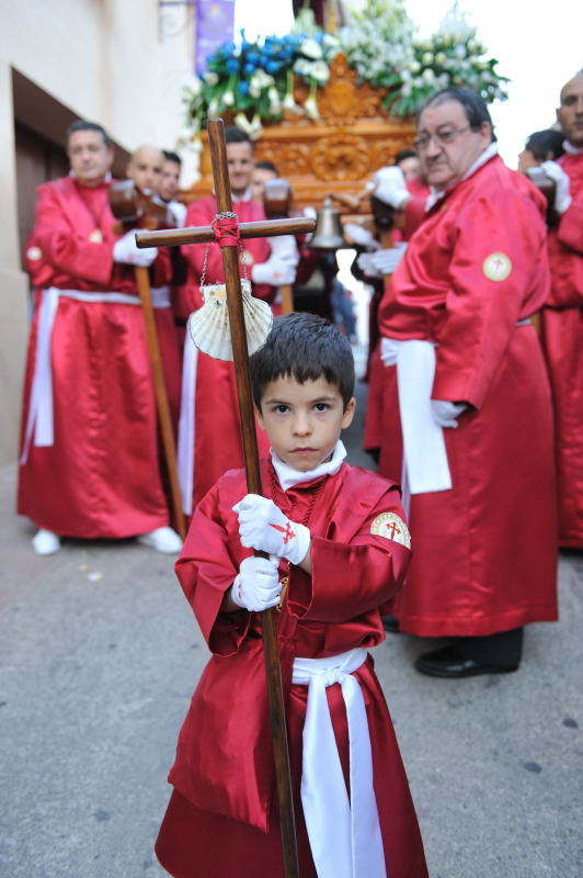 Scallops for Santiago and sweets for sharing in the Semana Santa processions of Mula