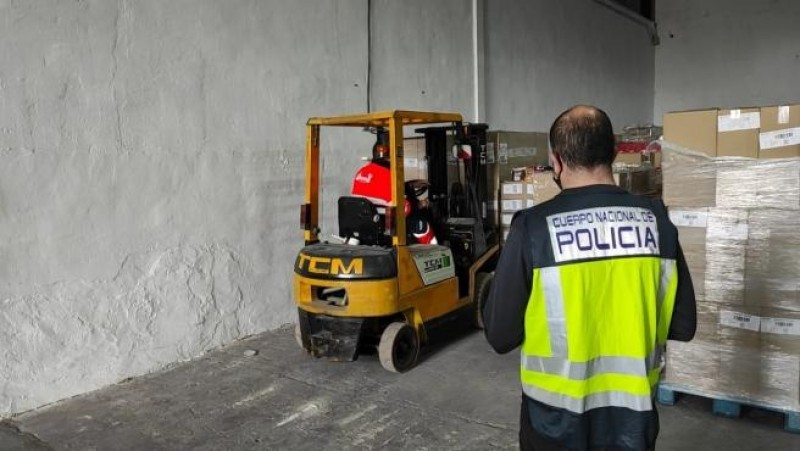 Alicante delivery driver stole 250,000 euros of chocolate and sold it for 1200 euros