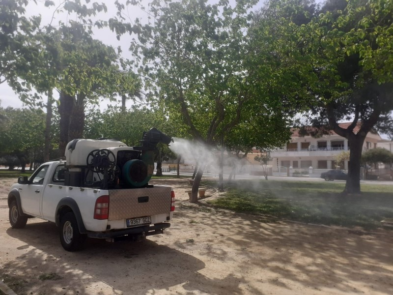 <span style='color:#780948'>ARCHIVED</span> - Los Alcazares council intensifies mosquito fumigation