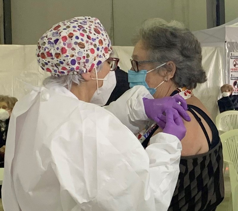 Unvaccinated over-80s in Águilas urged to contact their medical centres