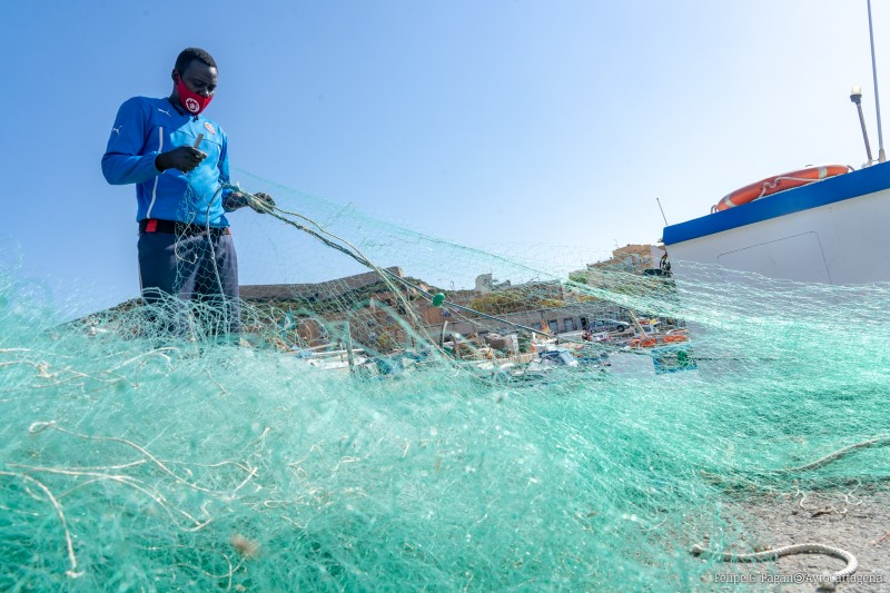 Cartagena promotes fishing traditions in primary education at local schools