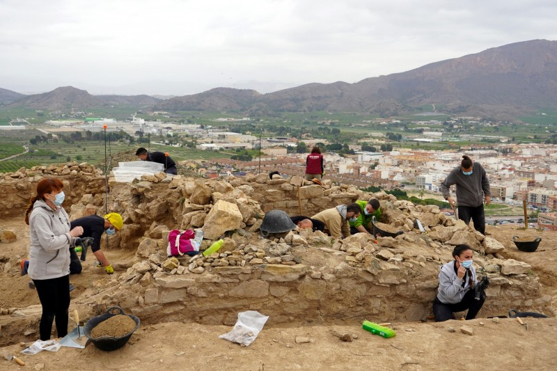 <span style='color:#780948'>ARCHIVED</span> - Remains of 10-metre-high tower built by Iberian tribes found in Santomera
