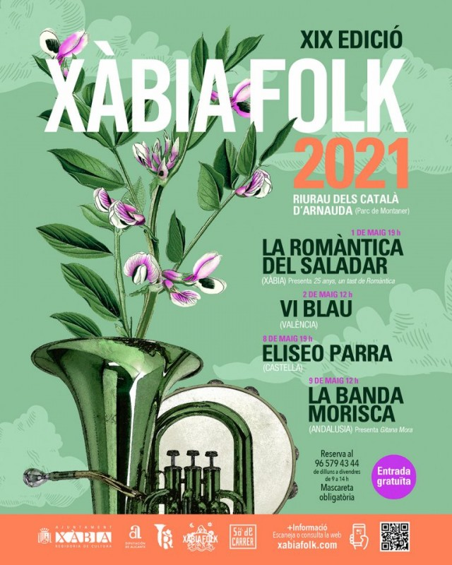 <span style='color:#780948'>ARCHIVED</span> - Xabia Folk 2021: annual festival to go ahead at the beginning of May