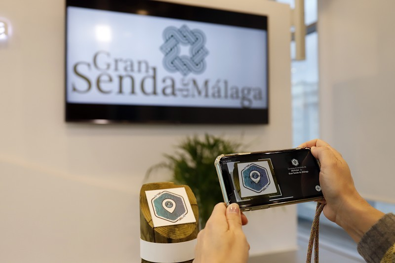 Pioneering mobile app launched for Malaga's Gran Senda hiking route