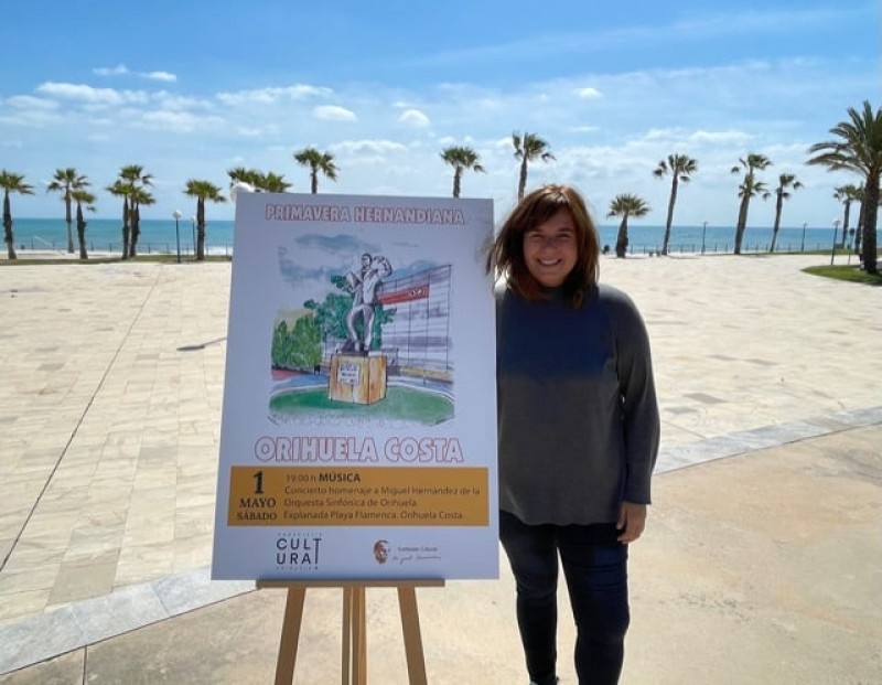 <span style='color:#780948'>ARCHIVED</span> - Orihuela Costa offers free concert on May 1 in Orihuela Costa with local Symphonic Orchestra