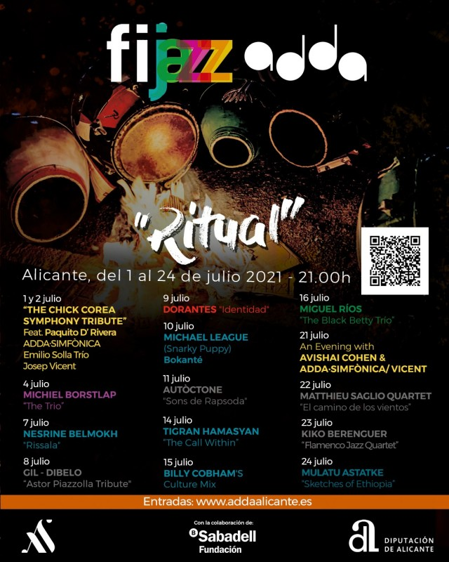 <span style='color:#780948'>ARCHIVED</span> - Fijazz festival returns to Alicante in July 2021