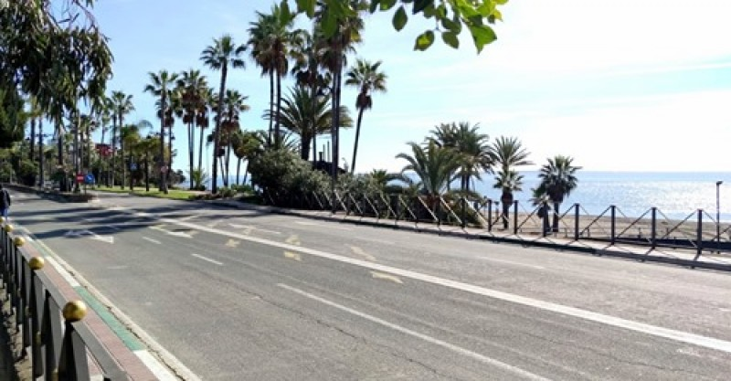 Estepona to boost pedestrian safety on busy walkway