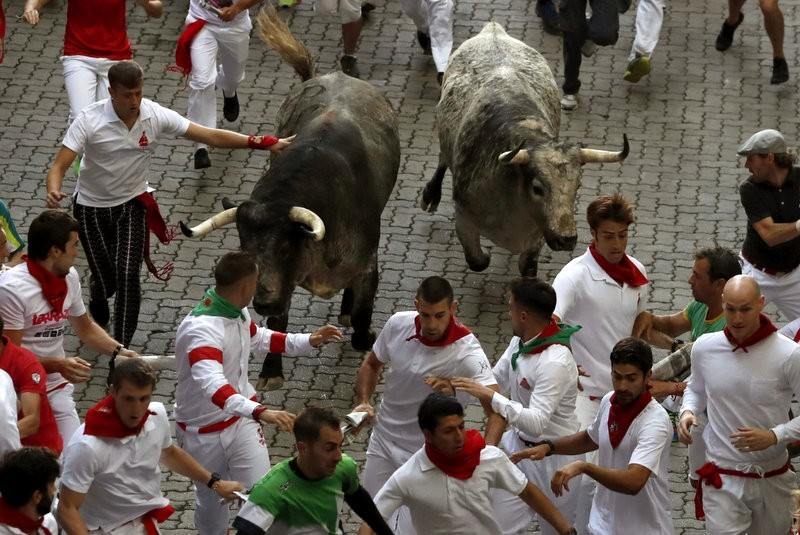<span style='color:#780948'>ARCHIVED</span> - San Fermin fiestas in Pamplona fall victim to coronavirus for second consecutive year