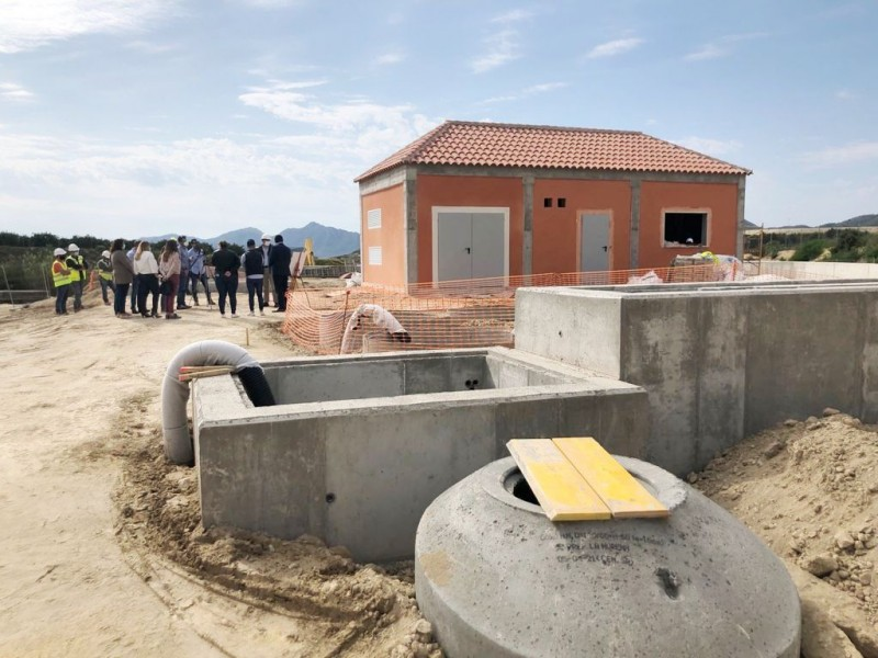 <span style='color:#780948'>ARCHIVED</span> - New Mazarron waste water treatment plant in Majada proceeding well