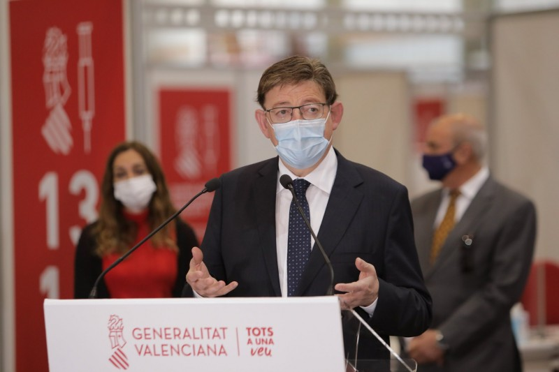 President of Valencia region confirms that perimetral closure will be lifted on May 9