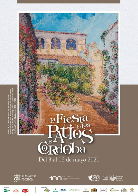 <span style='color:#780948'>ARCHIVED</span> -  The Cordoba Fiesta de los Patios festival celebrates 100 years between May 3 and 16