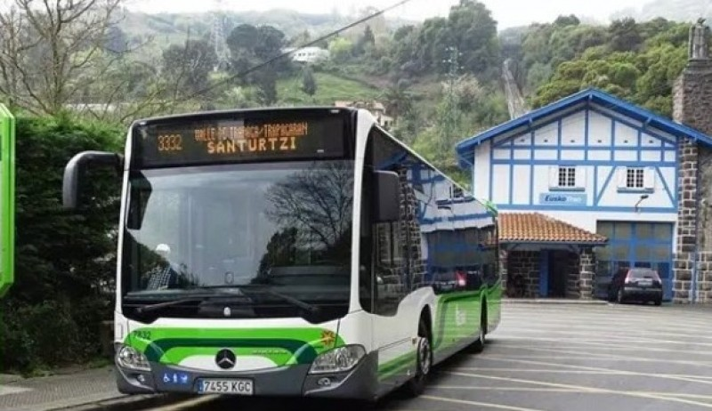 <span style='color:#780948'>ARCHIVED</span> -  Bus driver assaulted with knife for asking passenger to wear mask in Basque Country