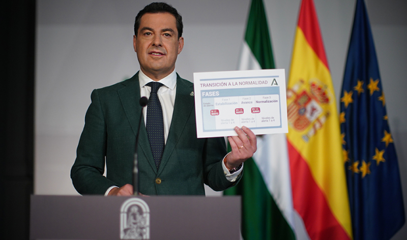 <span style='color:#780948'>ARCHIVED</span> -  Andalusia details restrictions for after end of the state of alarm on May 9