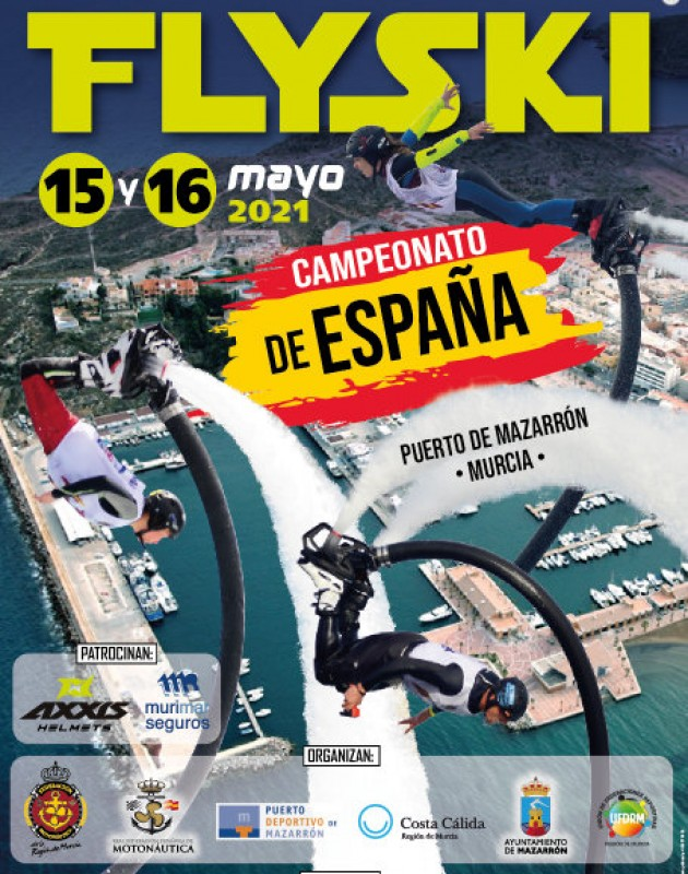 <span style='color:#780948'>ARCHIVED</span> - 15th and 16th May Spanish national FlySki championship in Puerto de Mazarrón