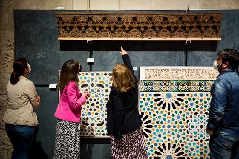 <span style='color:#780948'>ARCHIVED</span> - A piece of history returns to the Alhambra in Granada