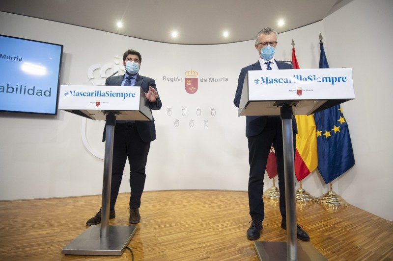 <span style='color:#780948'>ARCHIVED</span> - Murcia is the safest region in Spain says regional president: Covid update May 17