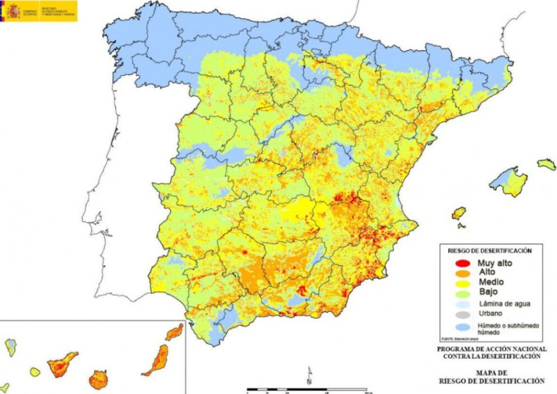 <span style='color:#780948'>ARCHIVED</span> - Real-time drought monitoring system launched in Spain