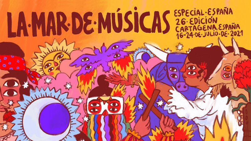 <span style='color:#780948'>ARCHIVED</span> -  Special Spanish edition of La Mar de Musicas festival in Cartagena from July 16 to 24