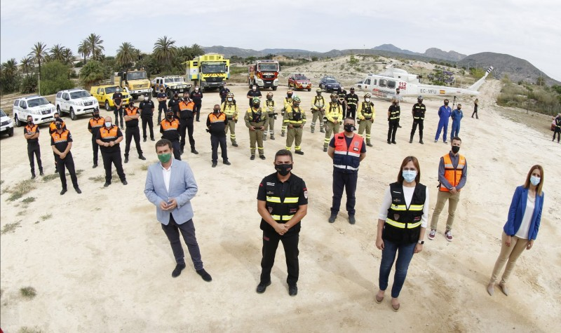 2021 wildfire prevention and detection campaign begins in Murcia