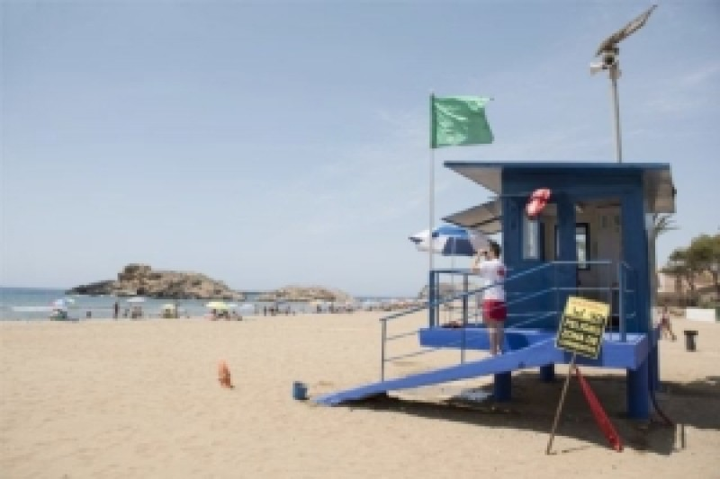 <span style='color:#780948'>ARCHIVED</span> - Mazarrón approves beach lifeguard services for summer 2021