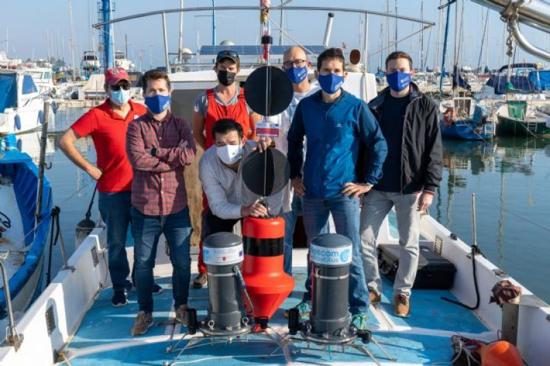 <span style='color:#780948'>ARCHIVED</span> - University of Cartagena develops new automated buoy to take samples in the Mar Menor