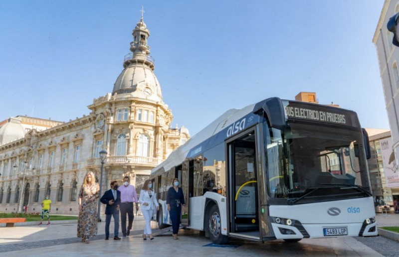<span style='color:#780948'>ARCHIVED</span> - Cartagena presents its first fully electric bus
