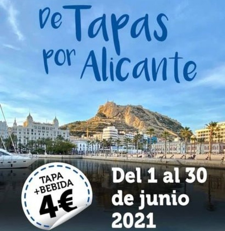 <span style='color:#780948'>ARCHIVED</span> - Tapas route in Alicante city until June 30