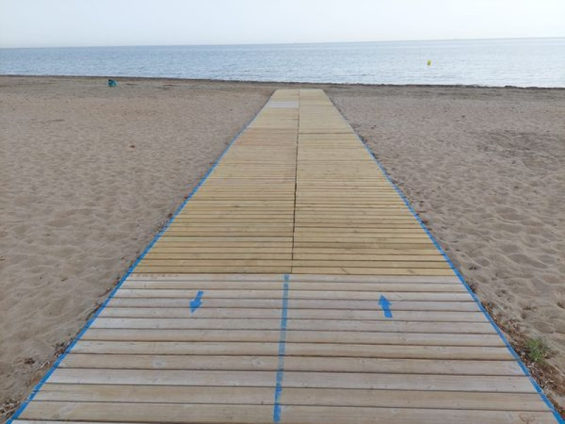 <span style='color:#780948'>ARCHIVED</span> - Denia reopens its accessible beaches from today June 15