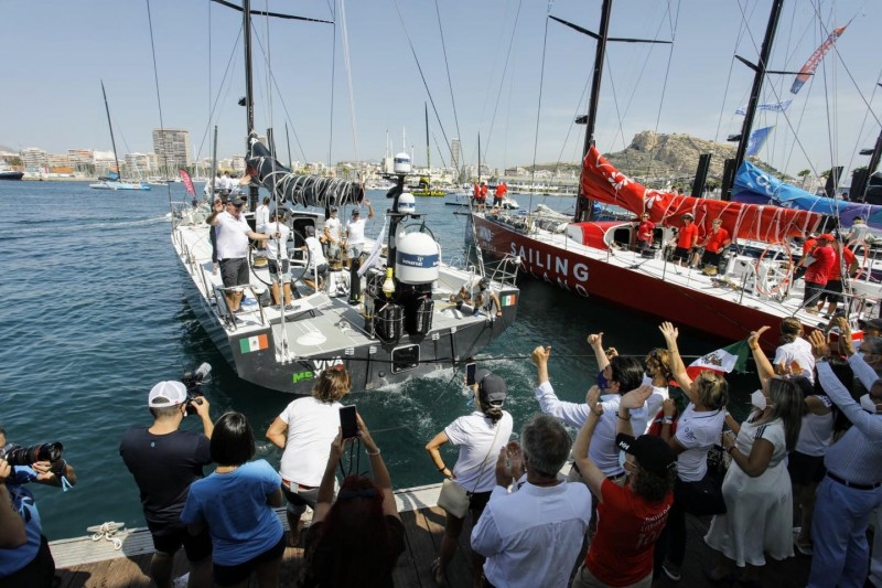 <span style='color:#780948'>ARCHIVED</span> - Alicante Port hosts final leg of Ocean Race Europe
