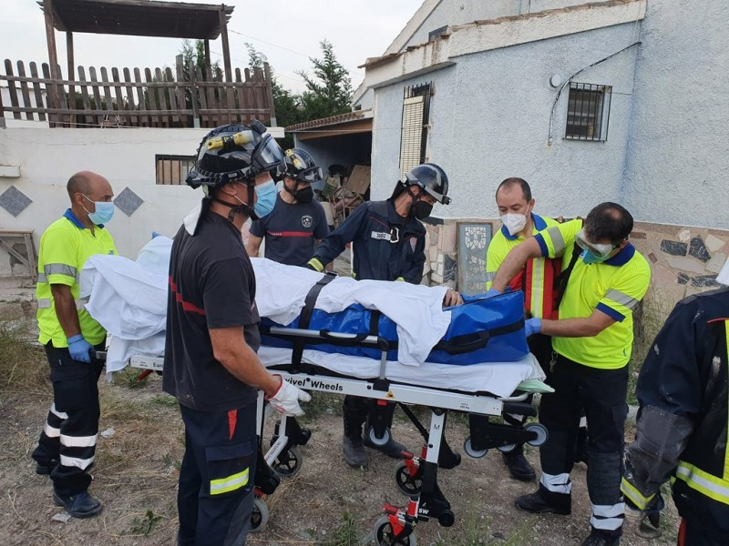 <span style='color:#780948'>ARCHIVED</span> - Man seriously injured falling into empty swimming pool in Cieza