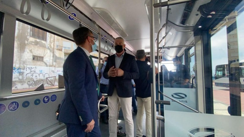 <span style='color:#780948'>ARCHIVED</span> - Torrevieja trials electric bus on urban routes to reduce emissions and embrace cleaner technology