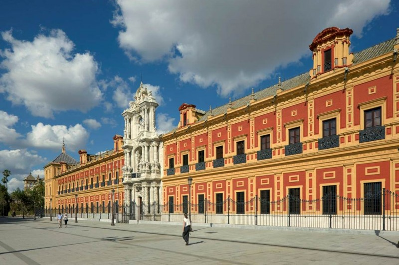 Free guided tours on offer in the Palacio de San Telmo in Sevilla