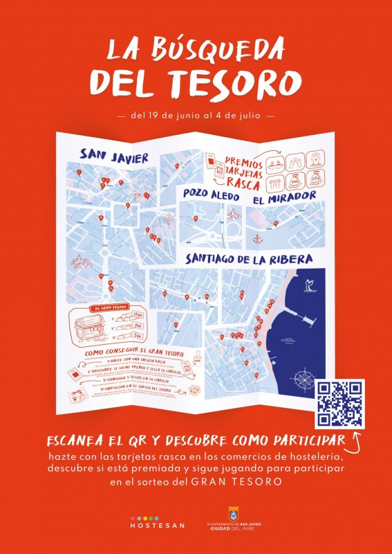 <span style='color:#780948'>ARCHIVED</span> - San Javier treasure hunt shopping campaign with prizes for all customers