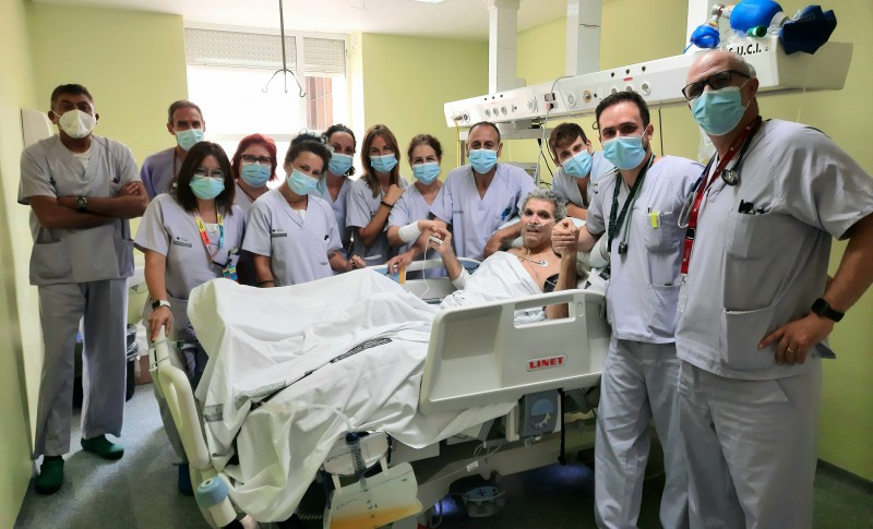 <span style='color:#780948'>ARCHIVED</span> - No Covid patients remain in Alicante Hospital Intensive Care Department: UCI