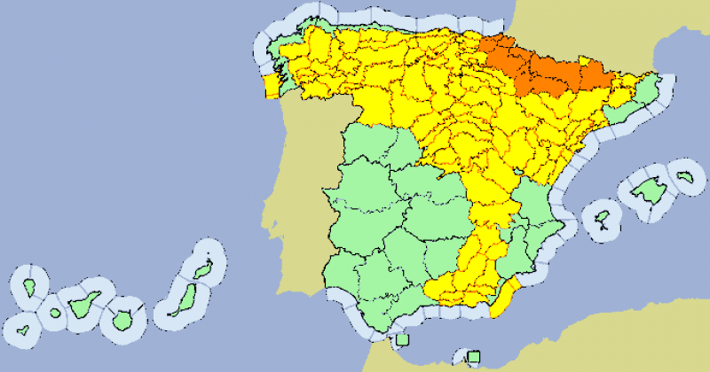 <span style='color:#780948'>ARCHIVED</span> - Heavy hail in Albacete this afternoon as AEMET upgrades storm warnings