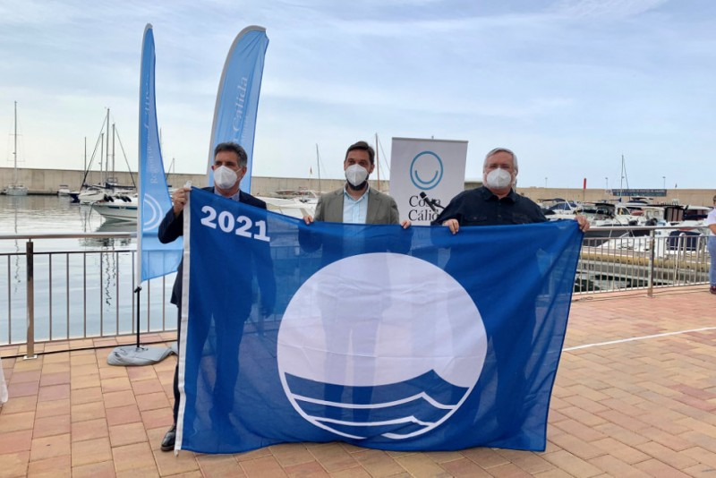 <span style='color:#780948'>ARCHIVED</span> - Águilas takes delivery of 11 Blue Flags to be flown at beaches and marinas this summer