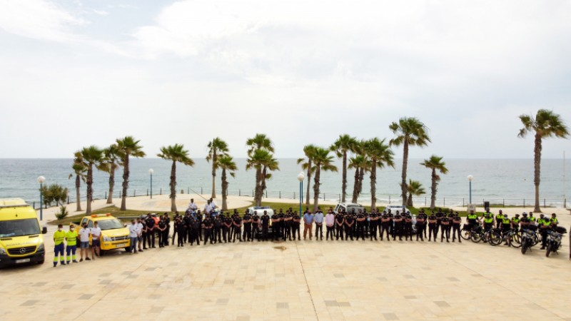 <span style='color:#780948'>ARCHIVED</span> - Orihuela presents its summer beach safety plan
