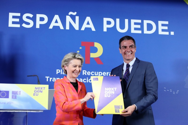 <span style='color:#780948'>ARCHIVED</span> -  Spain to receive 19 billion euros this year following EU approval of recovery plan