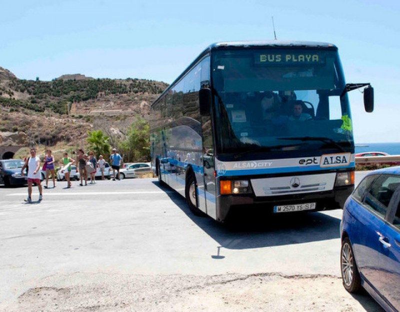 Summer bus timetables to Cartagena beaches starting from June 25 and July 5