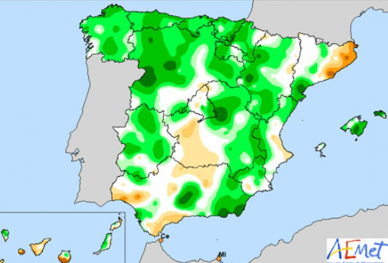 <span style='color:#780948'>ARCHIVED</span> - Last month was the second wettest June this century in Spain