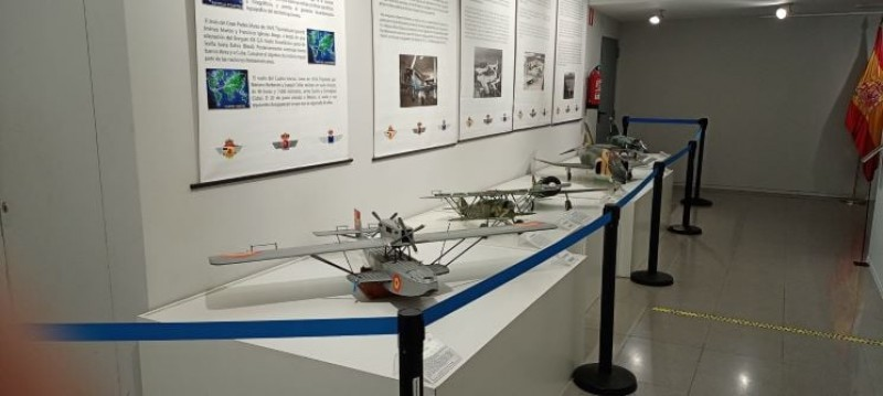 <span style='color:#780948'>ARCHIVED</span> - History of flying exhibition at the San Javier Museum from July 16 to 31
