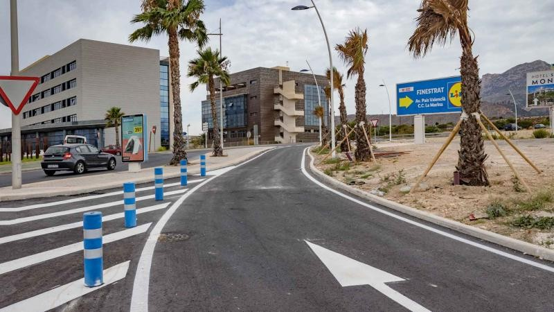 <span style='color:#780948'>ARCHIVED</span> - Benidorm opens new N-332 and AP-7 access to alleviate rush hour traffic